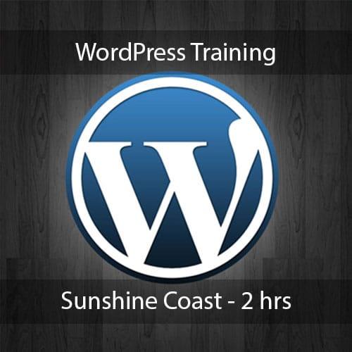 wordpress training sunshne coast